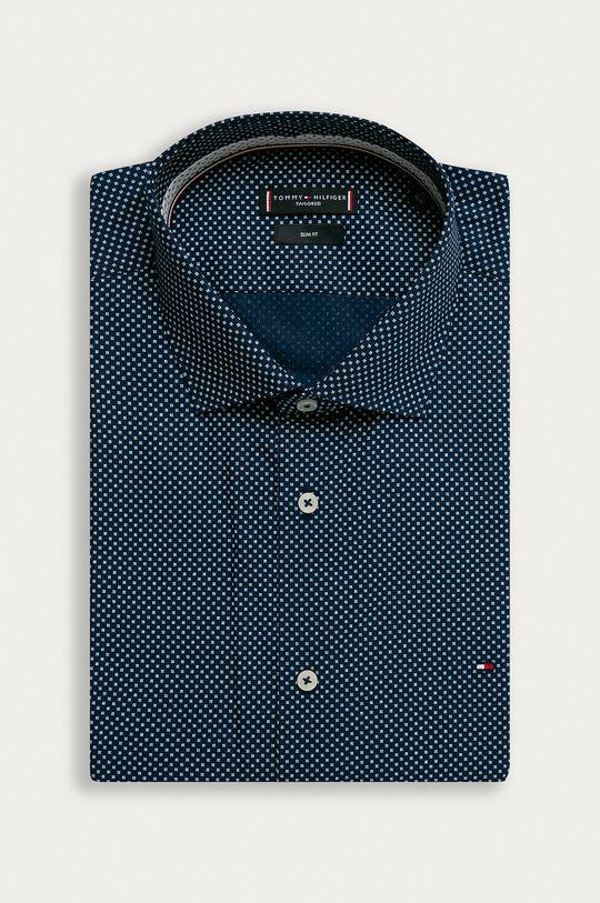 albastru Tommy Hilfiger Tailored - Camasa din bumbac De bărbați