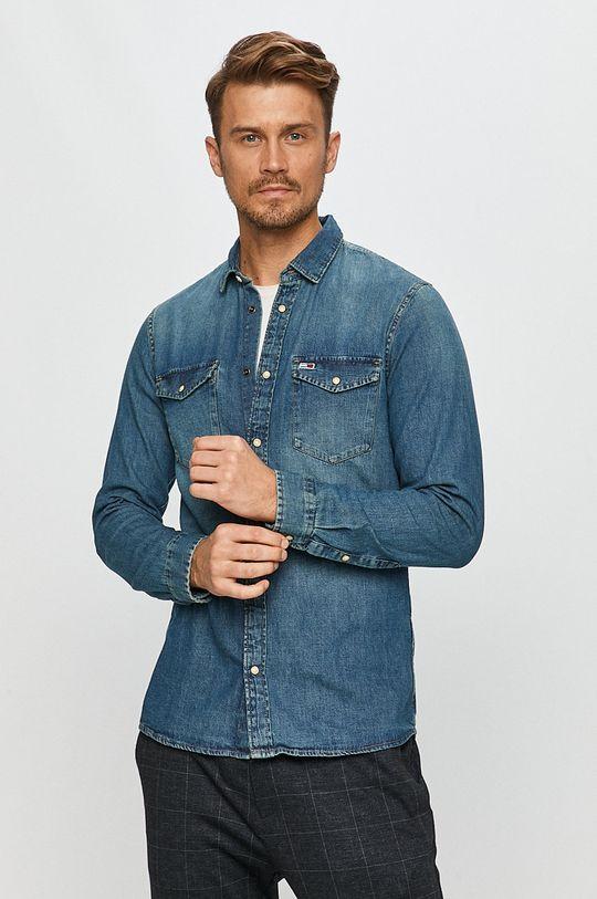 albastru Tommy Jeans - Camasa De bărbați