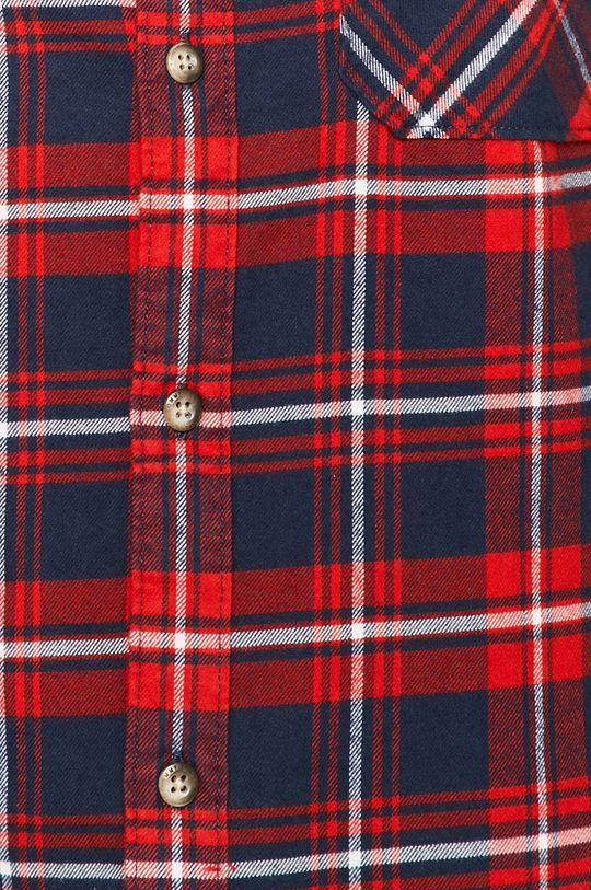 Tommy Jeans - Bavlnená košeľa tmavomodrá