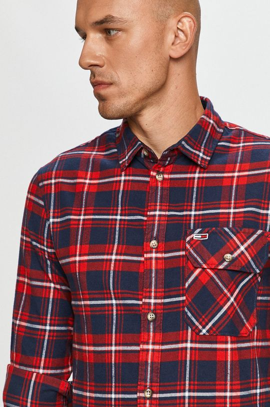 Tommy Jeans - Bavlnená košeľa Pánsky