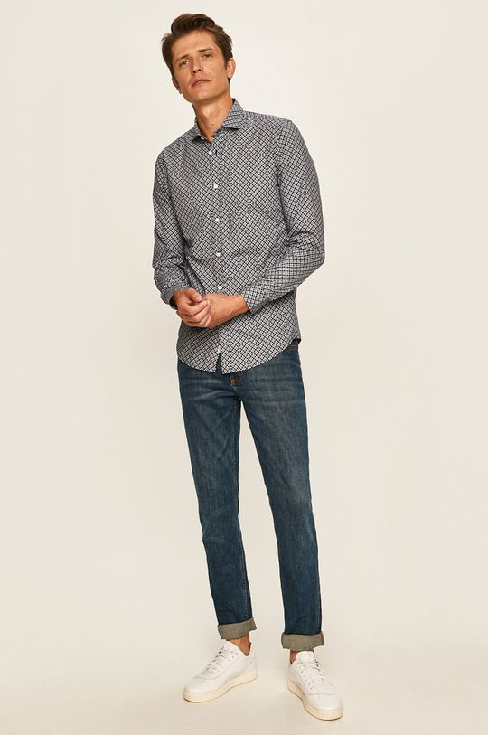 Pepe Jeans - Koszula Burton 100 % Bawełna