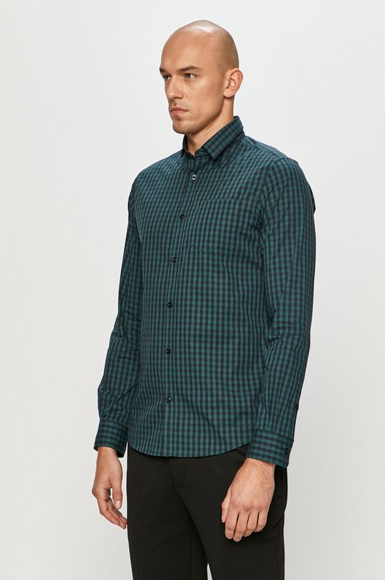 verde Tom Tailor Denim - Camasa De bărbați