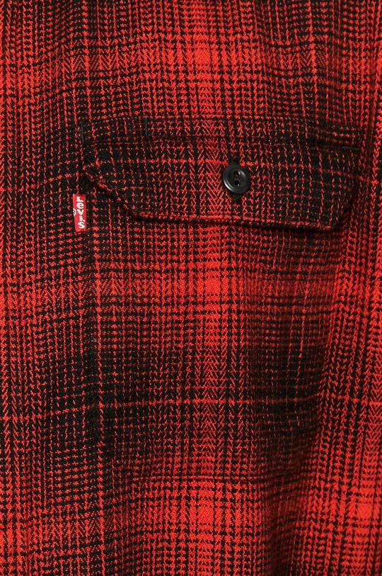 Levi's - Bavlněné tričko červená