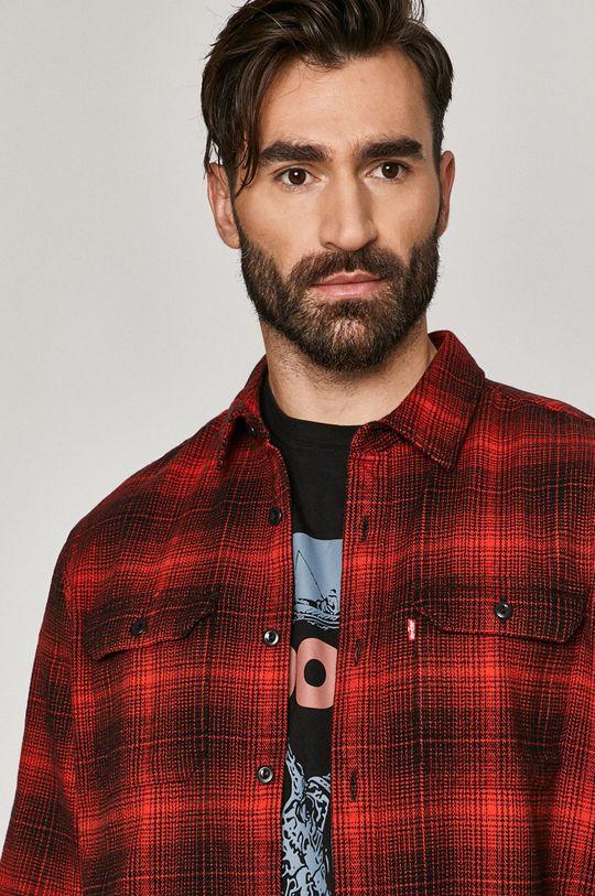 červená Levi's - Bavlněné tričko