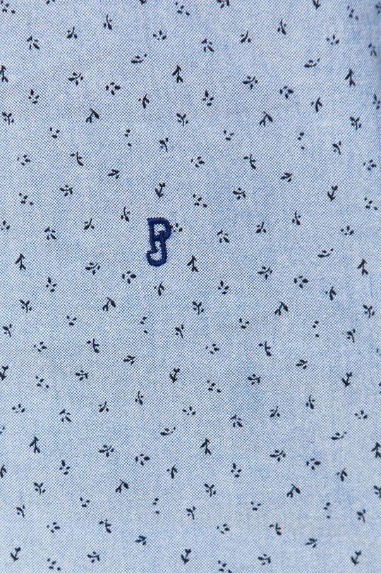 Pepe Jeans - Bavlněné tričko Egleton modrá