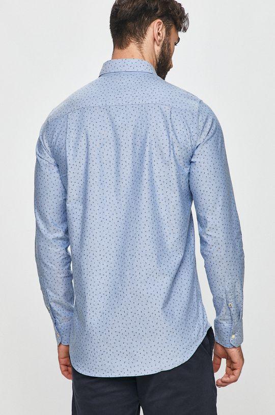 modrá Pepe Jeans - Bavlněné tričko Egleton