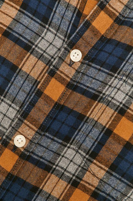 Pepe Jeans - Koszula bawełniana Telford brązowy