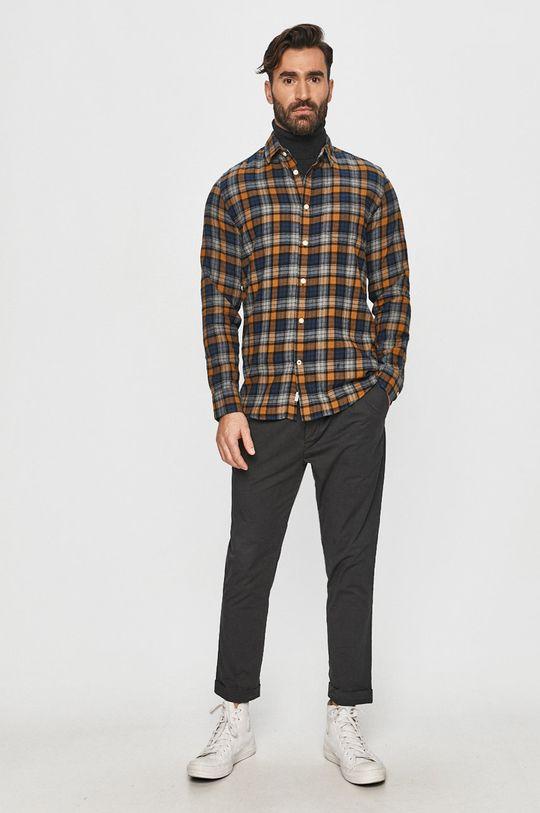 Pepe Jeans - Koszula bawełniana Telford 100 % Bawełna
