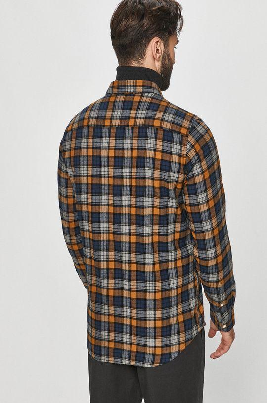 brązowy Pepe Jeans - Koszula bawełniana Telford