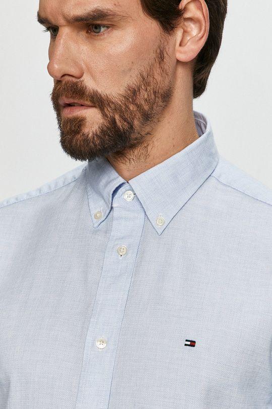 blady niebieski Tommy Hilfiger - Koszula bawełniana