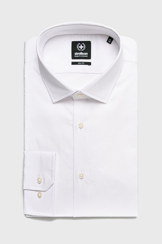 biały Strellson - Koszula Męski