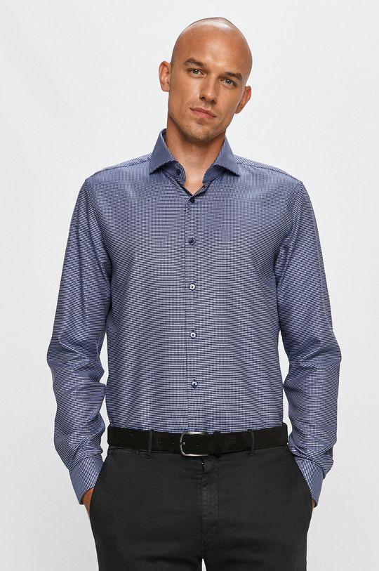 Strellson - Bavlněné tričko modrá