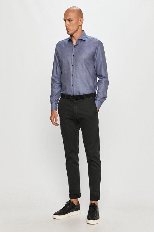 modrá Strellson - Bavlněné tričko