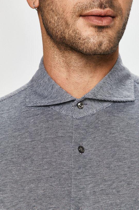 Joop! - Bavlněné tričko námořnická modř