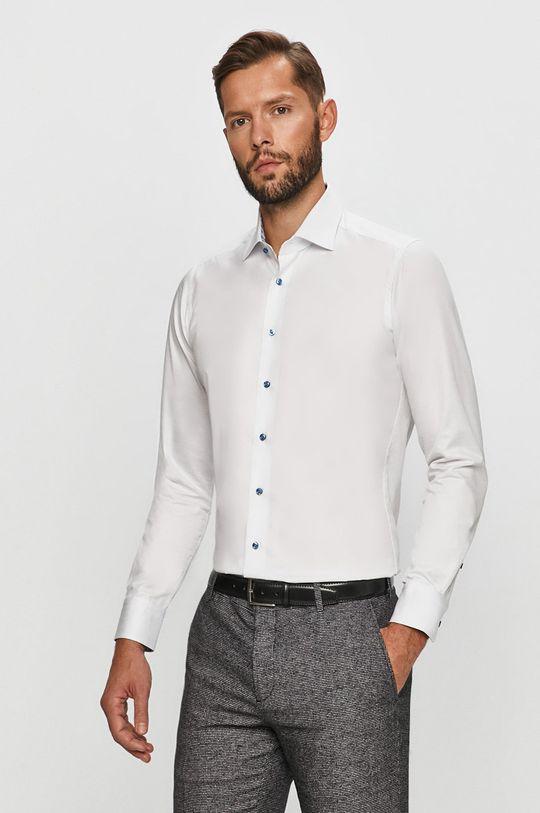Emanuel Berg - Koszula bawełniana biały