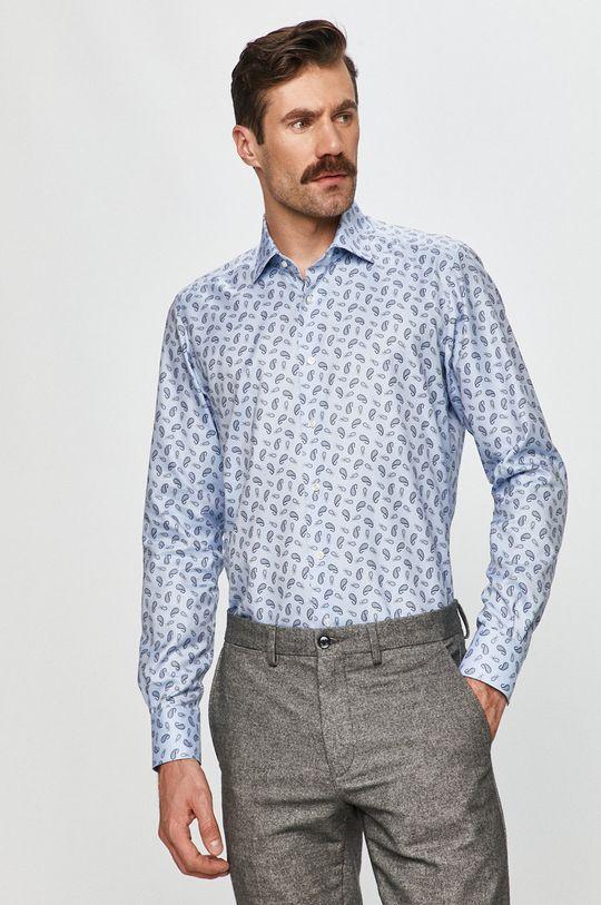 Emanuel Berg - Bavlnená košeľa modrá