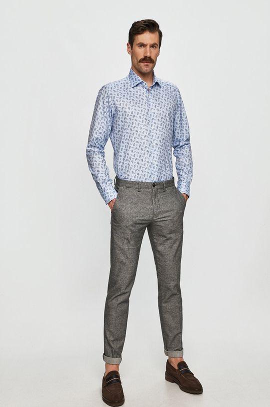 modrá Emanuel Berg - Bavlnená košeľa