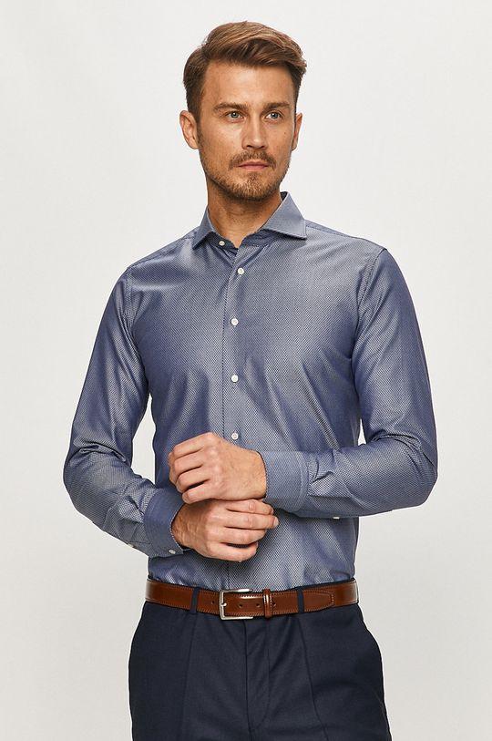 Emanuel Berg - Bavlnená košeľa tmavomodrá