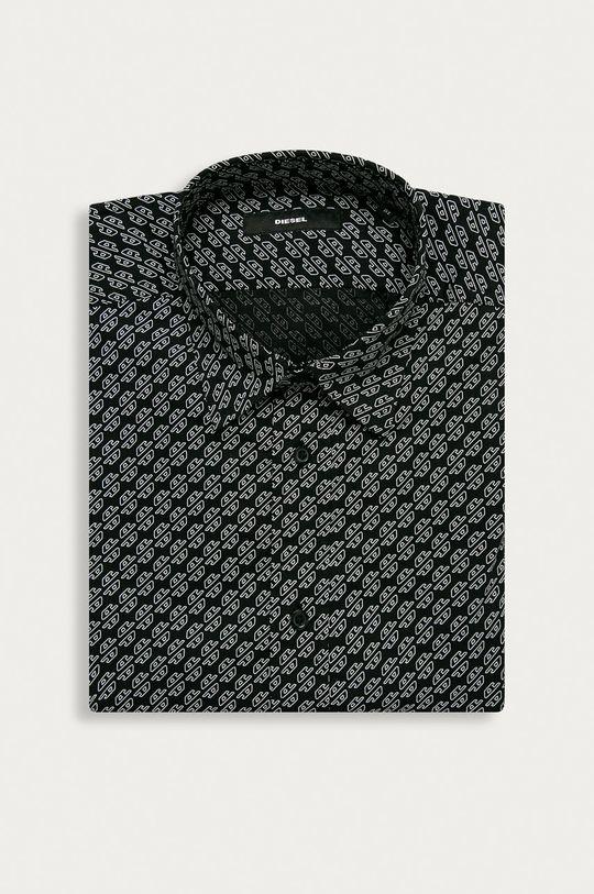čierna Diesel - Košeľa Pánsky