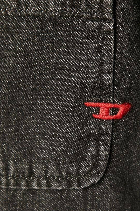 Diesel - Koszula jeansowa czarny