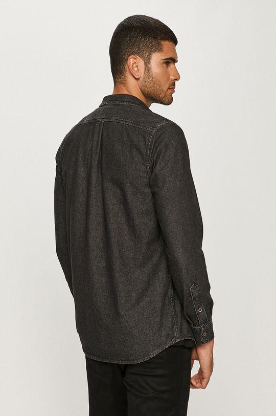 czarny Diesel - Koszula jeansowa