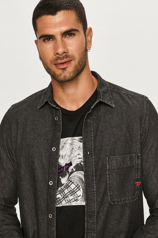 Diesel - Koszula jeansowa Męski