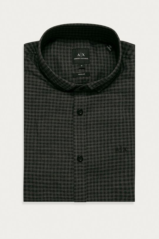 negru Armani Exchange - Camasa De bărbați