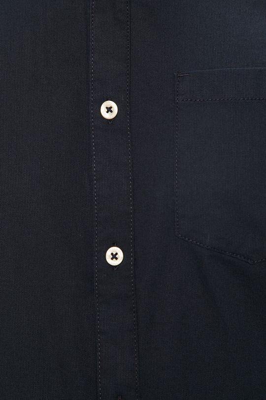 Tom Tailor Denim - Koszula bawełniana granatowy