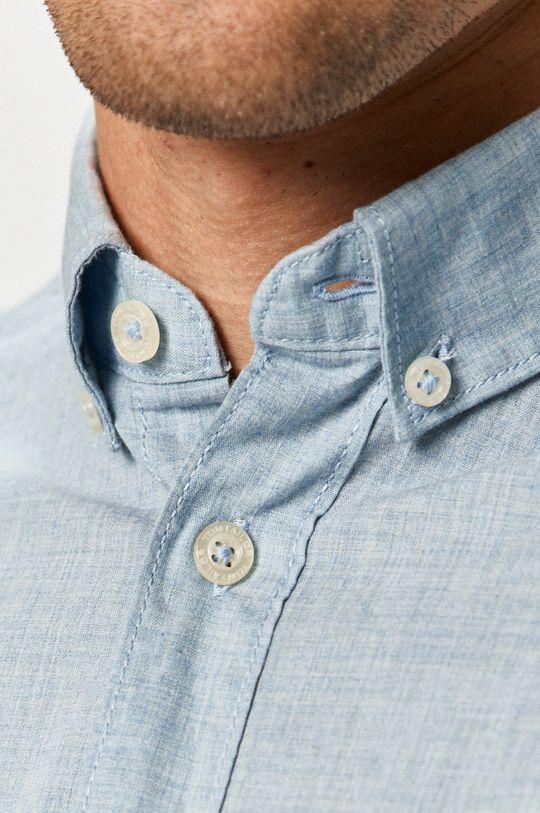 Tom Tailor - Bavlněné tričko světle modrá