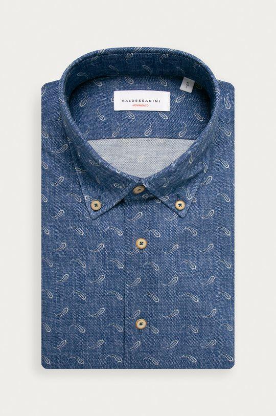 modrá Baldessarini - Bavlnená košeľa Pánsky