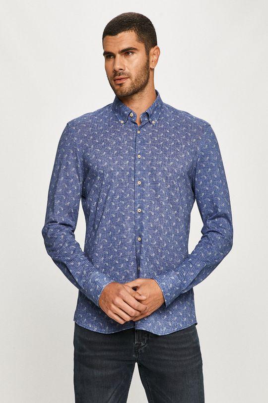 Baldessarini - Bavlnená košeľa modrá