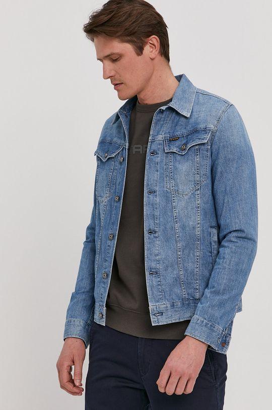 niebieski G-Star Raw - Koszula jeansowa Męski