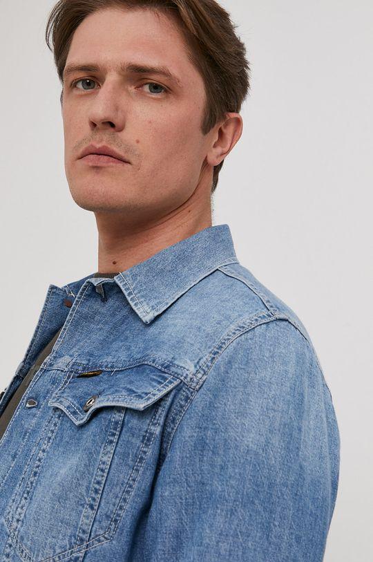 niebieski G-Star Raw - Koszula jeansowa
