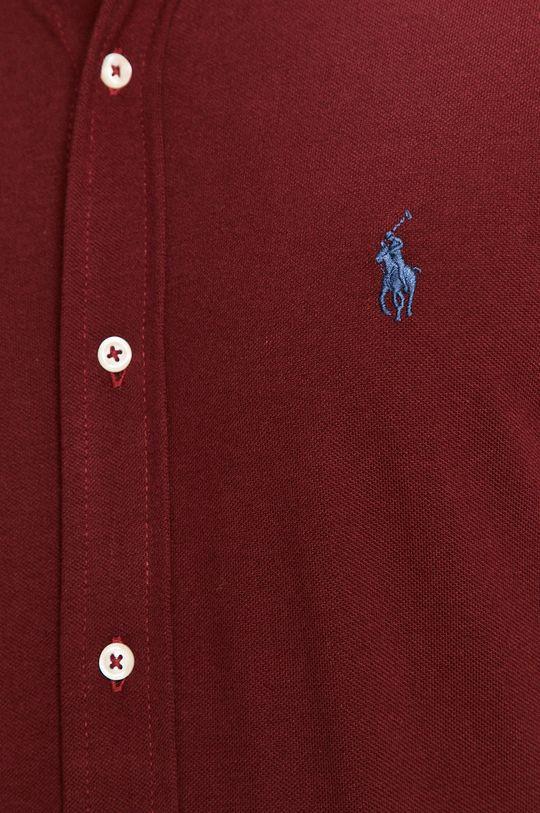 Polo Ralph Lauren - Bavlněné tričko kaštanová
