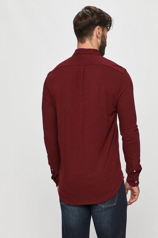 kaštanová Polo Ralph Lauren - Bavlněné tričko