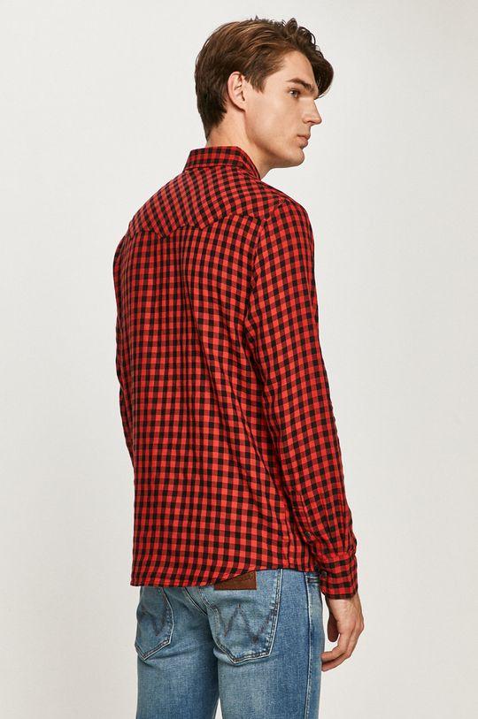 červená Wrangler - Bavlnená košeľa