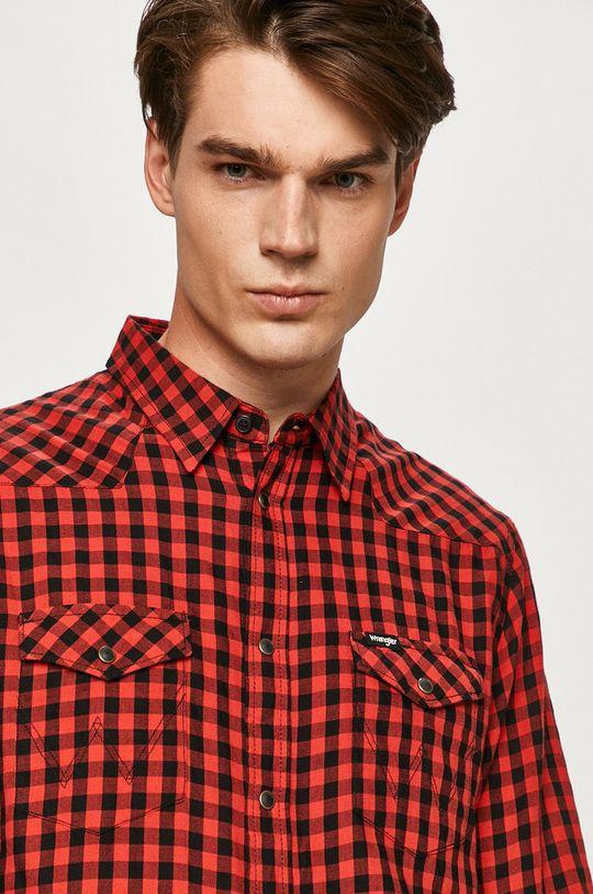 Wrangler - Bavlnená košeľa Pánsky