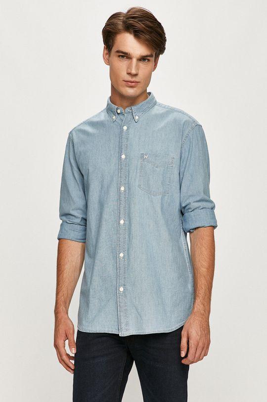 světle modrá Wrangler - Košile Pánský