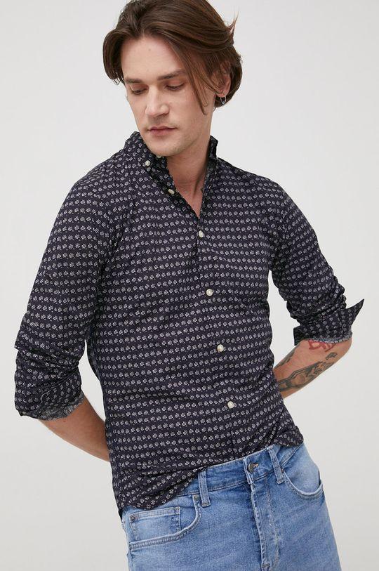 granatowy Produkt by Jack & Jones - Koszula bawełniana Męski