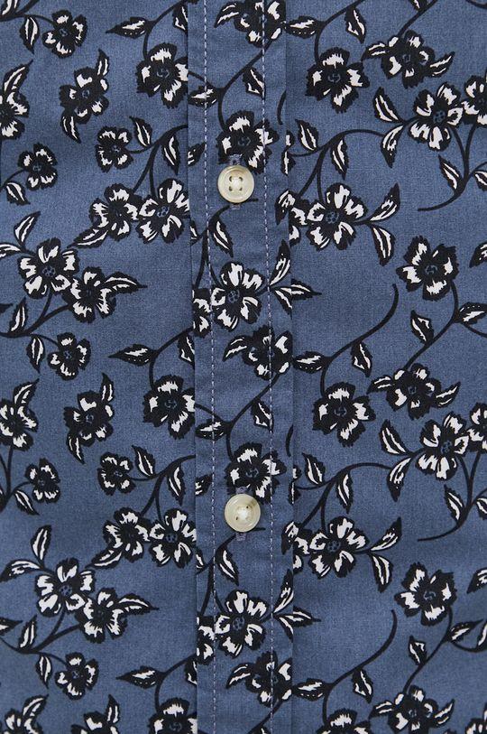 Produkt by Jack & Jones - Camasa din bumbac albastru metalizat