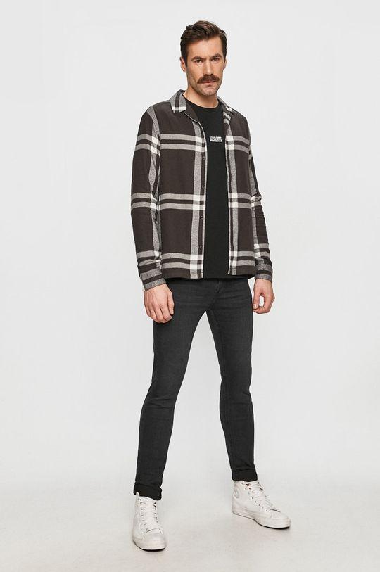 AllSaints - Koszula bawełniana 100 % Bawełna
