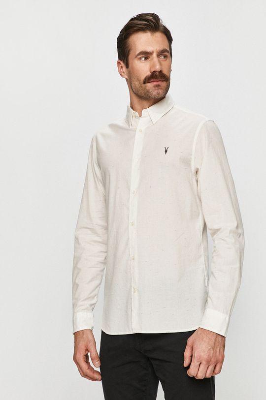 bílá AllSaints - Košile Pánský