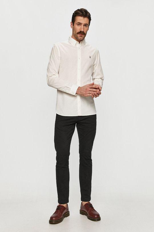AllSaints - Košile bílá