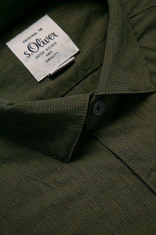 s. Oliver - Koszula oliwkowy