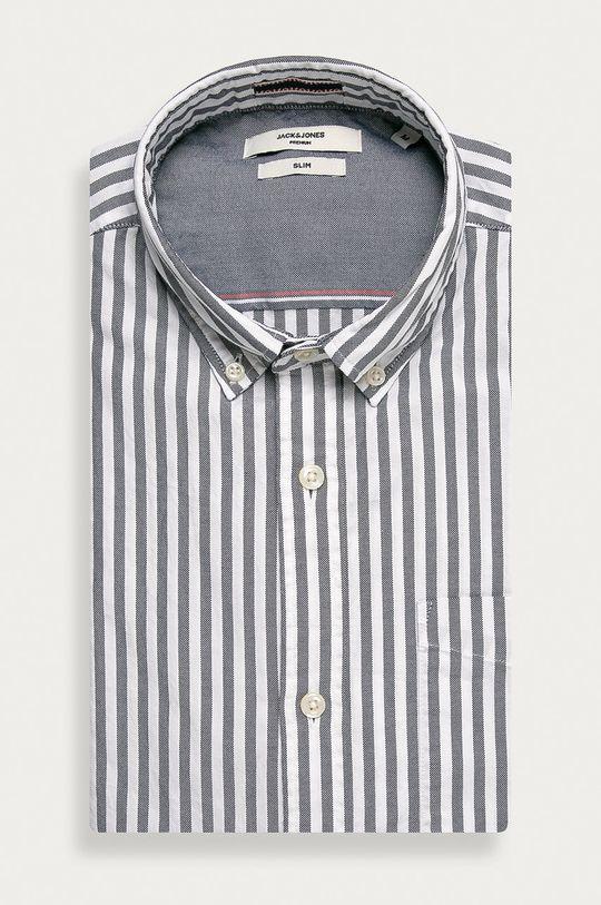 námořnická modř Premium by Jack&Jones - Bavlněné tričko Pánský