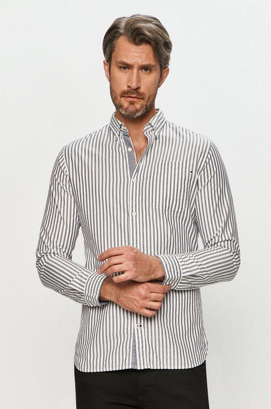 Premium by Jack&Jones - Bavlněné tričko námořnická modř