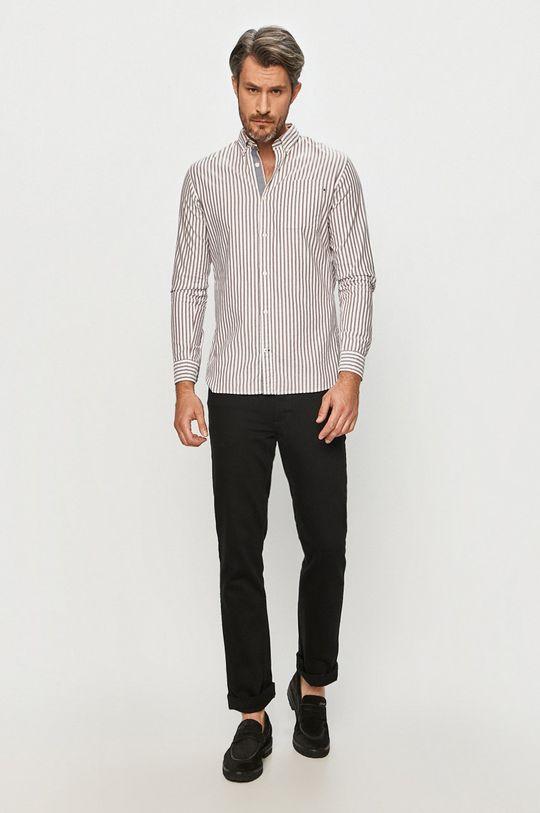 mahagonová Premium by Jack&Jones - Bavlněné tričko