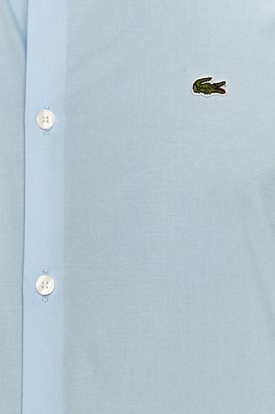 Lacoste - Bavlněné tričko světle modrá