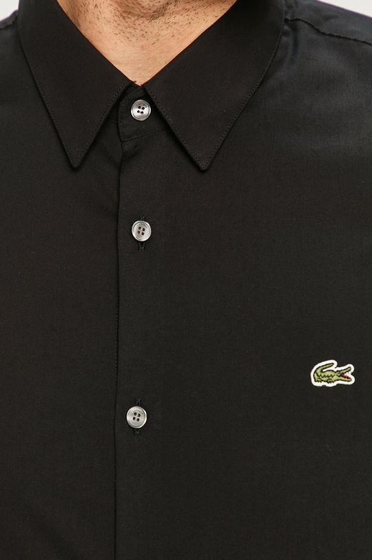 Lacoste - Koszula bawełniana czarny