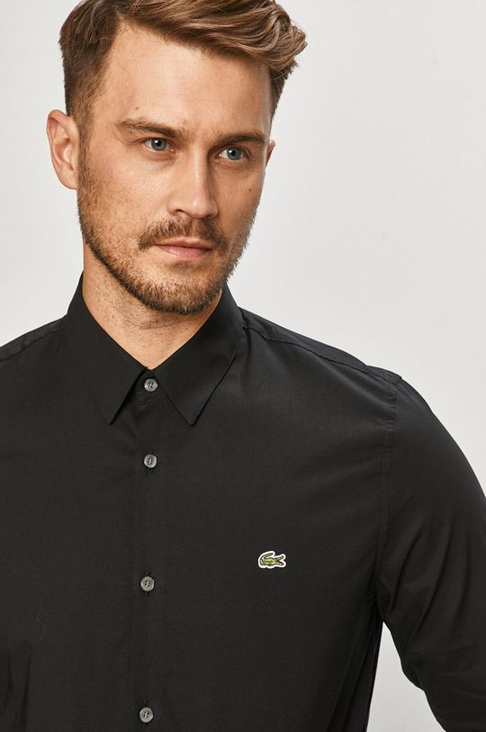 Lacoste - Koszula bawełniana Męski